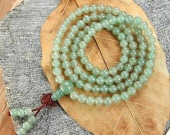 Natural Aventurine bracelet Green Aventurine quartz crystal gemstone bracelet healing crystal 1030