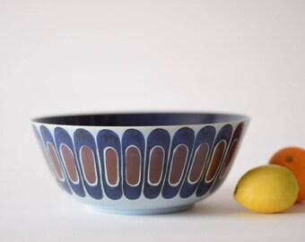 Royal Copenhagen - Large Bowl - Fruit / Salad Bowl - Inge Lise Koefoed - 192/2382 - Danish Mid-century Cramic
