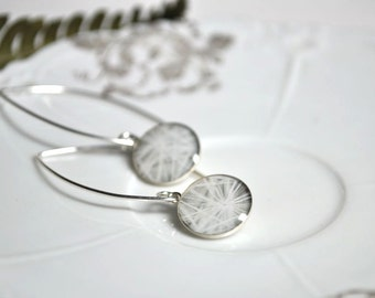 COTTON. Eclipse earrings in Sterling Silver