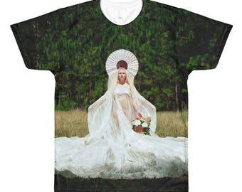 The Goddess All-Over Printed T-Shirt By Eduardo Di Castro