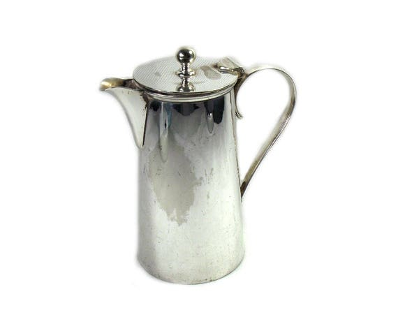 Vintage Mappin and Webb Silver Plated Coffee Pot