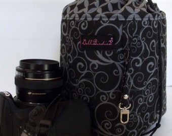 Dollbirdies Original Large Drawsting Camer Cozy, Camera Tote, Camera Bag