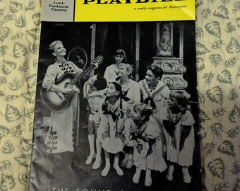 Vintage Broadway Playbill The Sound Of Music Mary Martin 1959