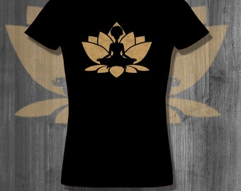 Afrocentric Yoga T shirt Natural Hair T-Shirt Plus Size Clothing African American clothing custom tees african clothing for her black pride