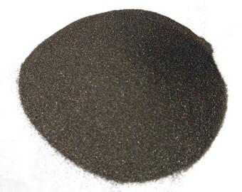 Black Colored Sand, 1/2 lb. or 1 lb. Bag, Black Unity Sand, Black Wedding Sand, David's Black Sand, Craft Sand