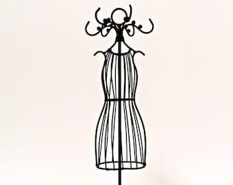 Parti pour la pièce maîtresse et de la princesse robe métal petit Mannequin/table fil bijoux Mannequin/mariée douche/Quinceanera décoration/Tutu sous forme
