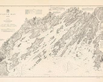 Casco Bay 1890