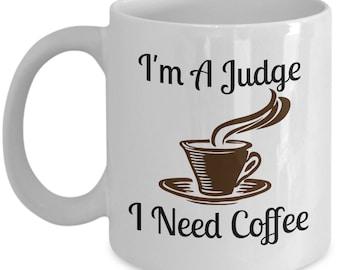 I'm A Judge 11oz Mug Novelty Ceramic Coffe Tea Cup Ideal Funny Gift