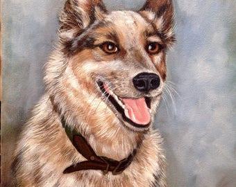 Dog Portrait Print