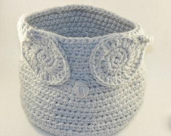 Owl basket organizer