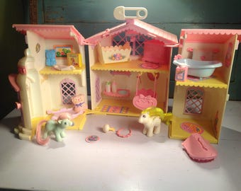 Vintage my little pony nursery