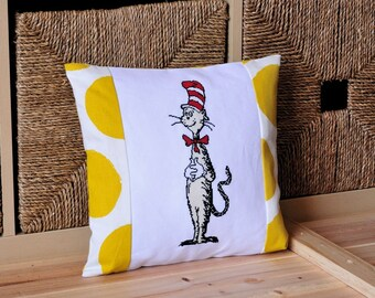 The Cat in the Hat Cross Stitch pattern xstitch chart Dr Seuss PDF Instant download