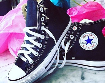 Spiked Converse Chuck Taylor All Star Shoes