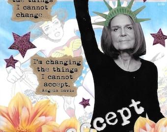 Changing Things - Gloria Steinem