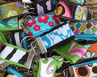 SALE-Grab Bag-10 BEAUTIFUL MINI-MInI Keychains-That's 3.00 Per Fob-Perfect Holiday Gift