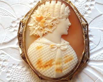 19th Century Portrait Cameo