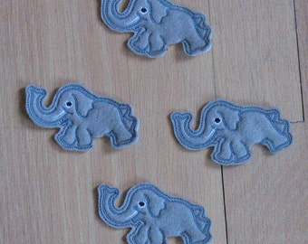 Penicl toppers - elephants
