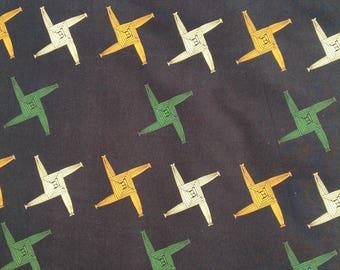 St Brigid's cross fabric