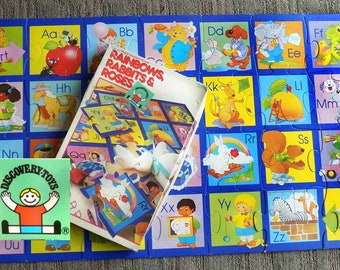 ABC puzzle - kid's fun puzzle -jigsaw puzzle kids - Alphabet puzzle - teaching puzzle -Discovery Toys -learning game - children's toy -# 9