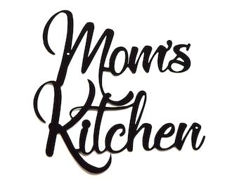 Mom's Kitchen Wall Art