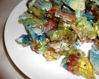 Hard Candy Gems, Candy Rocks, Nature Theme, Sea Glass, Edible Agates, Ocean Side Weddings,Bollywood Party Favors