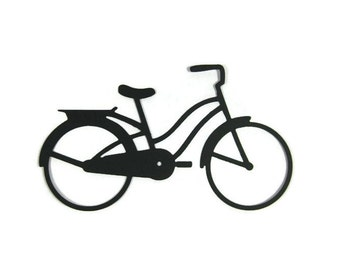 Paper Bicycle Die Cut set of 6