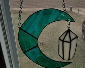 Green Moon worth crystal