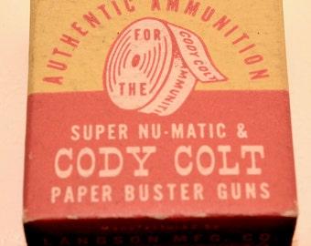 Cody Colt Cap Gun Ammuntion