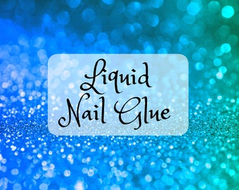 Liquid Nail Glue | Strong Press On Nail Glue | Fake Nail Adhesive | Nail DIY | Cyanoacrylate Nail Glue
