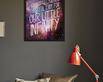 The Fault in Our Stars / Our Little Infinity / Poster