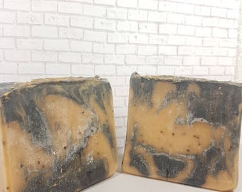 Drunken Hipster- Shave and Haircut - Beer Soap- Bar Soap- Cold process soap- handmade - homemade soap- Luxury soap-  Artisan Soap