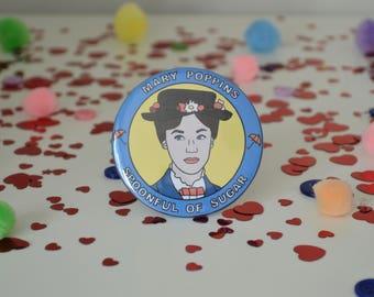 Mary Poppins - 58mm - Badge
