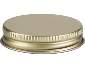 12 pcs Gold Mason Jar Lid for Ball 4 oz Miniature Mason Storage Jars