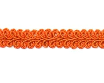 """E1901 Rust Orange Gimp Sewing Upholstery Trim 1/2"""" (E1901-RST)"""