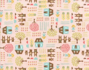 Moda Fabrics - Home Sweet Home Pink (20572 12) designed by Stacy Iest Hsu for Moda Fabrics