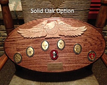 Scout Eagle Plaque #2 Oval