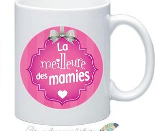 Mug great mothers Grandma birthday customizable cadeau_ #1