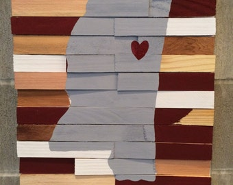 Ready to Ship - College Wall Hanging - Mississippi State University
