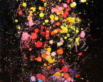 Bouquet de fleurs oeuvre