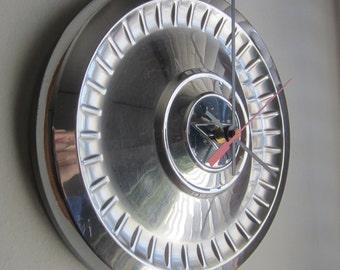 1962 Chevy II Hubcap Clock no.2047