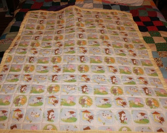 quilted baby quilt