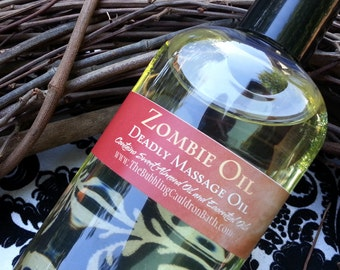Choose Your Scent - Zombie Oil - Deadly Massage Oil