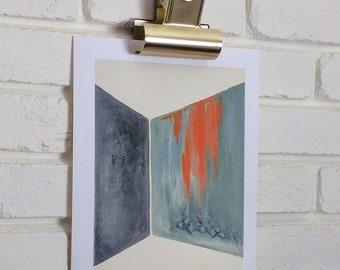 Contemporary art, Abstract art, Geometric Art Print, Giclee print