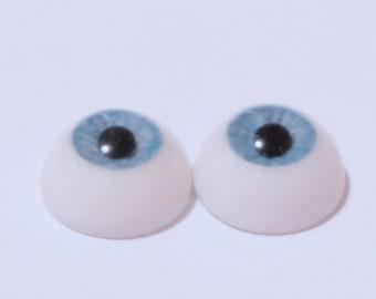 14mm blue acrylic eyes