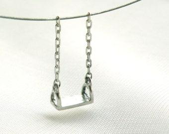 Little swing Pendant-sterling silver
