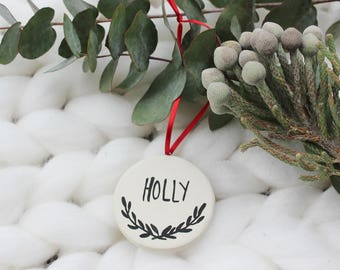 Personalized Christmas Ornament, Personalized Christmas Decoration, Personalized Christmas Bauble, Personalized Xmas Tree Ornament