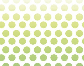 Riley Blake-Ombre Dots-GREEN-sold by the yard