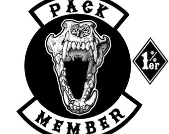 Pack Member Set - Embroidered Patches