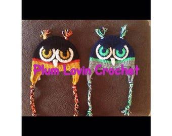 Crochet Sport Team Owl