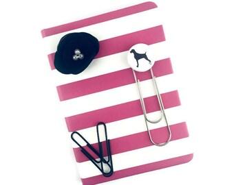 Weimaraner Planner Clip/Weimaraner Planner Paper Clip/Weimaraner Bookmark/Scripture Marker/Journal Marker/Weimaraner Gifts/Dog Rescuer Gifts